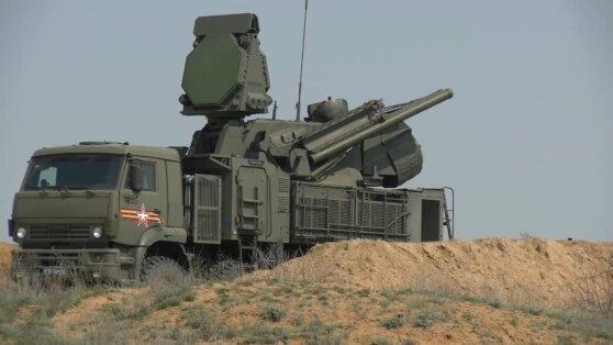 Опубликовано видео отражения «авианалета» комплексами «Панцирь»