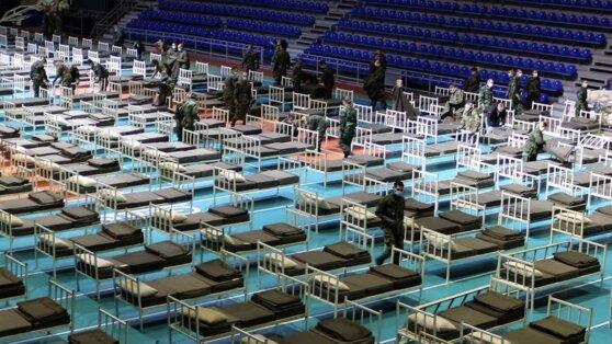 Российские специалисты начали прием пациентов с подозрением на коронавирус в Сербии