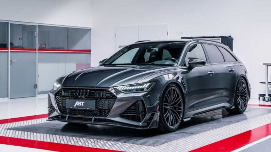 Ателье ABT показало доработанный Audi RS 6 Avant