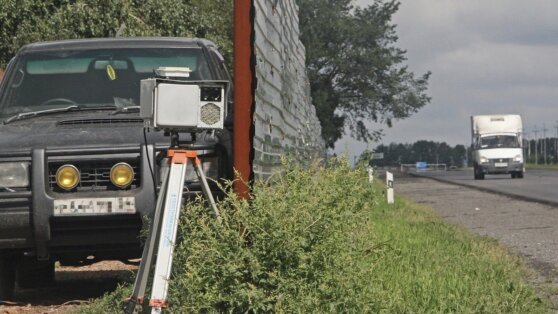 Водителей избавят от штрафов из-за камер «в кустах»