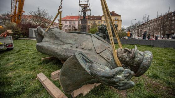 Власти Праги обвинили в сносе памятника маршалу Коневу Россию