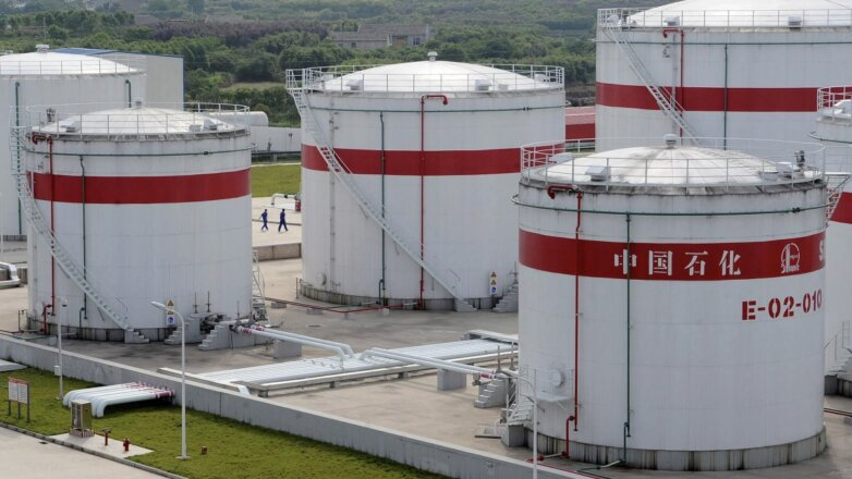 нефтехранилище китай