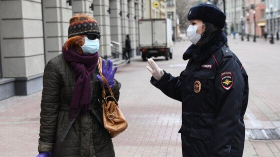 Власти Москвы ввели штрафы за нарушение режима самоизоляции