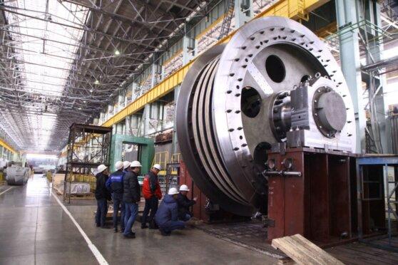 Корбалихинский рудник получит новую шахтную подъемную машину