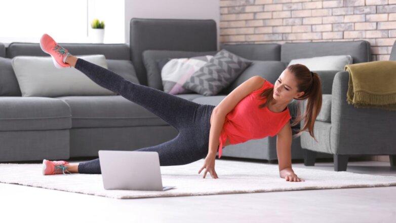 Фитнес дома онлайн