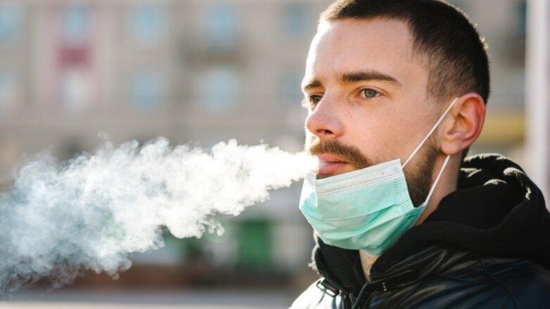 Коронавирус курильщик курить курение
