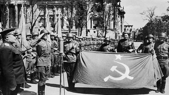 В Германии назвали советских солдат «оккупантами»