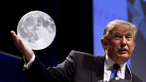 Трамп подписал указ об освоении Луны