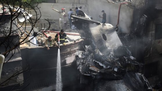 В Пакистане сообщили о выживших при крушении Airbus A320