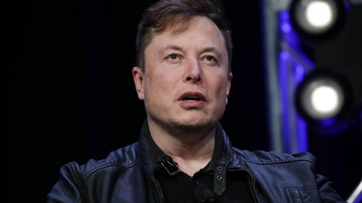 Генеральный директор Tesla Motors Илон Маск - Elon Musk чёрный фон