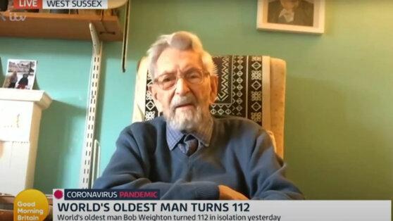 В Великобритании умер самый старый мужчина на Земле