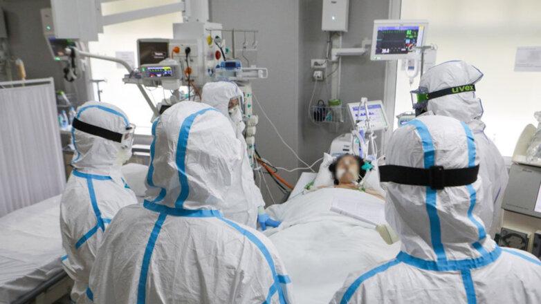 Коронавирус Больница Врачи Медперсонал Спецкостюм