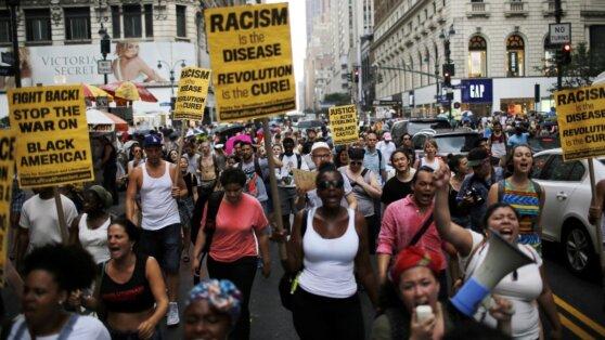 Протесты в США из-за смерти чернокожего перекинулись на Лос-Анджелес