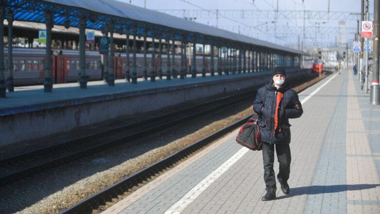 Вокзал Маска Коронавирус