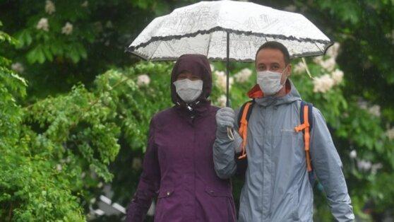 В Москве 3 июня ожидается до +18°С и сильный дождь