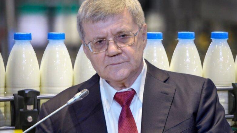 Юрий Чайка молоко молочная продукция