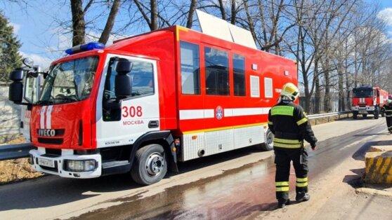 Установлены личности погибших при пожаре на западе Москвы