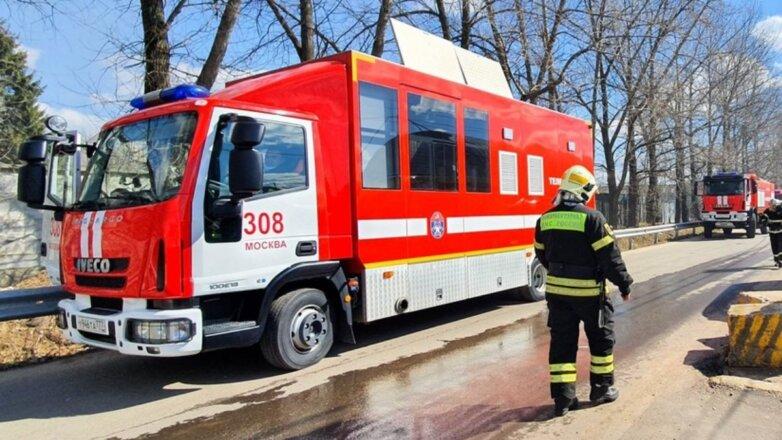 Пожарная машина Россия МЧС