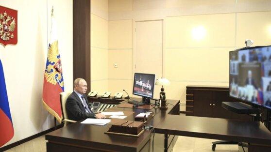 Путин проведет совещание о ситуации с пандемией COVID-19 в России