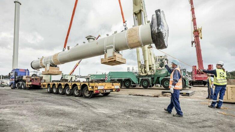 Северный поток 2 газопровод строительство трубы