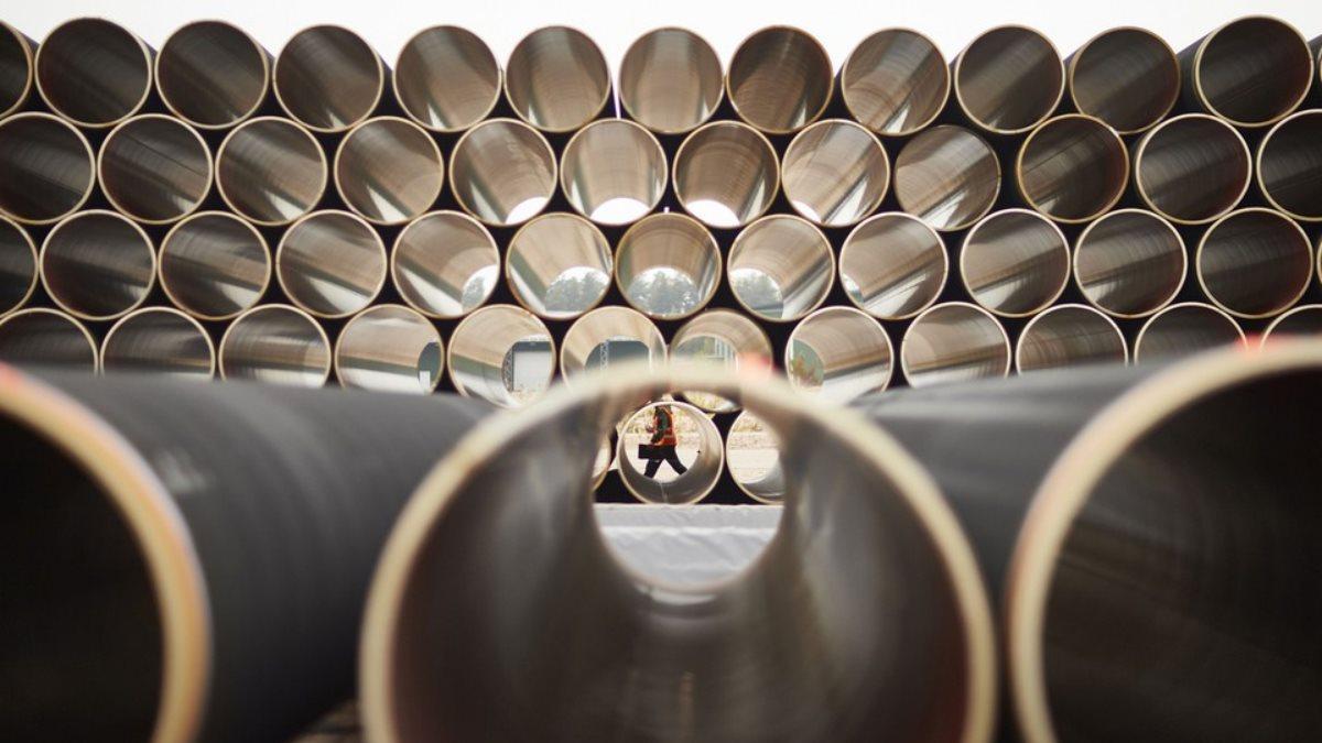 Северный поток-2 газопровод трубы Хранение труб