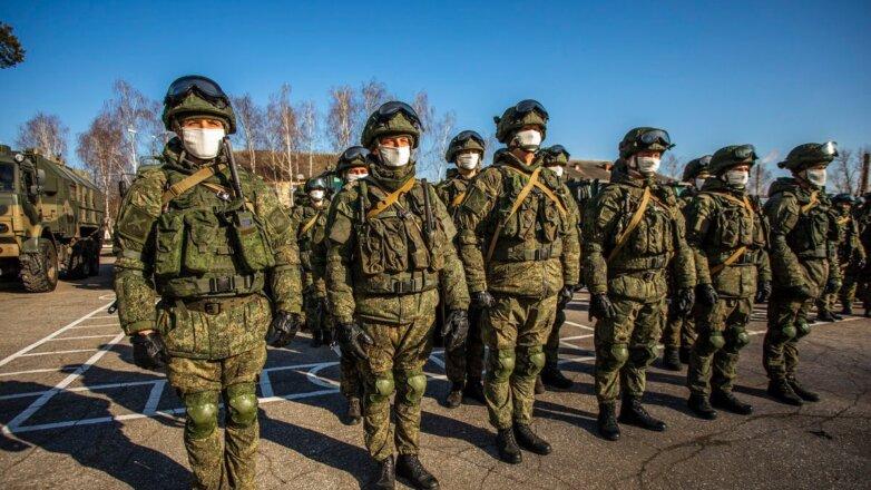 Солдаты коронавирус армия РФ военные