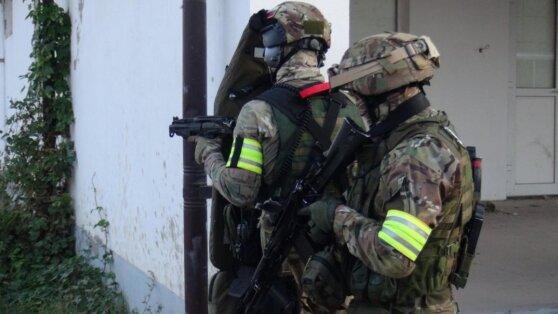 Силовики заблокировали боевиков в ингушском Сунже