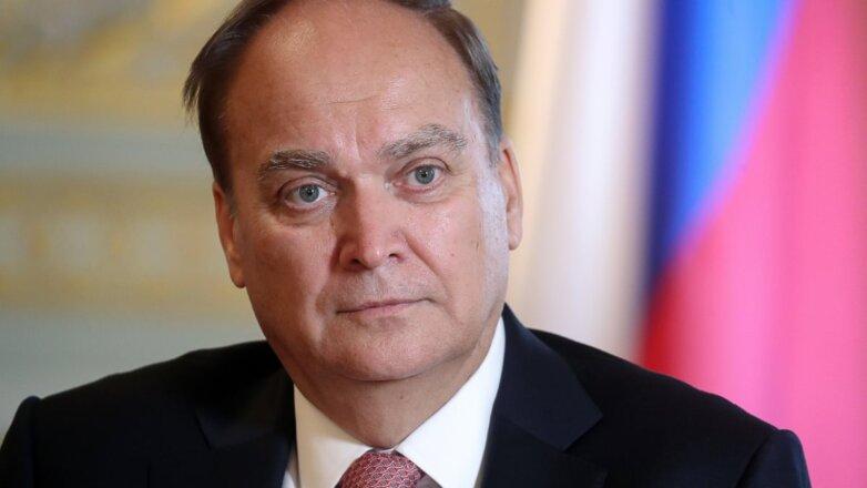Посол РФ в США Анатолий Антонов крупно