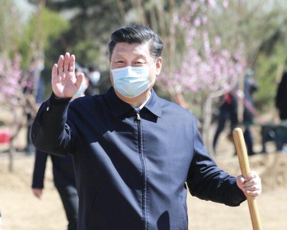 Xi Jinping mask