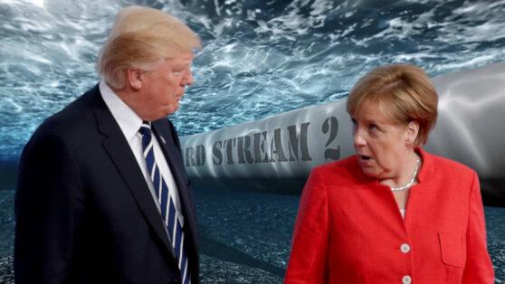 Меркель и Трамп поспорили из-за «Северного потока-2»