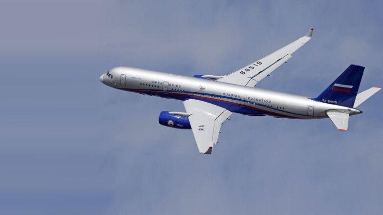 Самолет наблюдения Ту-214ОН Договор по открытому небу