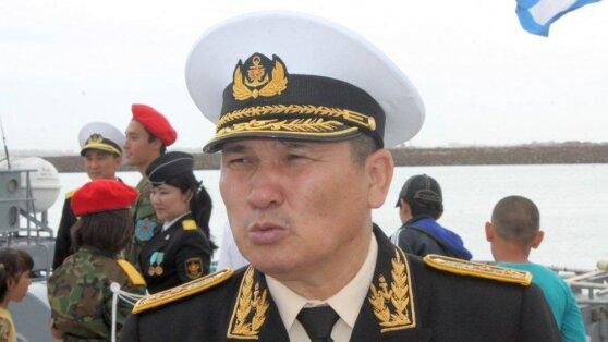 В Казахстане вице-адмирала лишили звания и посадили в тюрьму