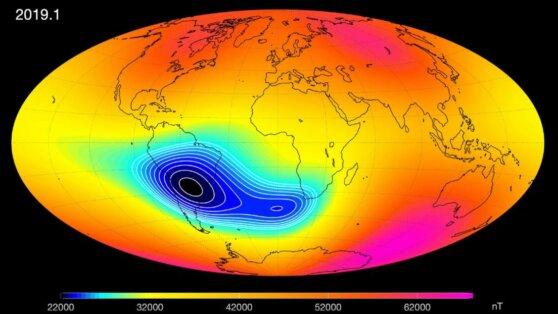 Ученые предупредили об ослаблении магнитного поля Земли