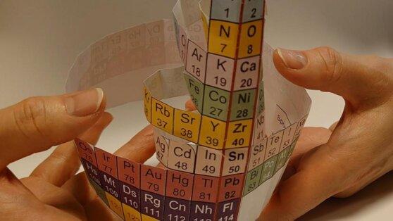 Японские ученые представили новую периодическую таблицу