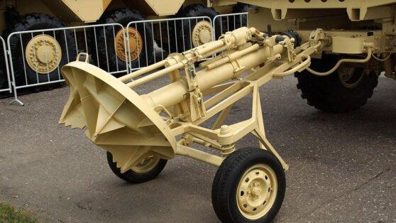 В Минобороны поставили партию модернизированных минометов «Сани»