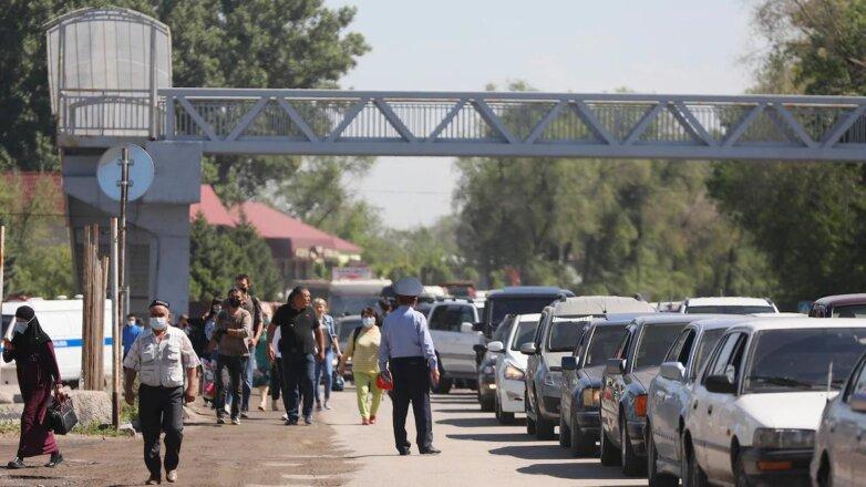 пробка блокпост Алматы