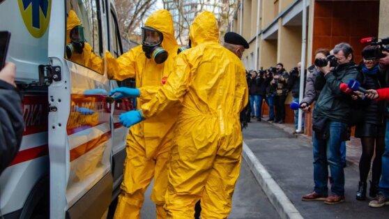 В Киеве за сутки выявили рекордное число заболевших COVID-19
