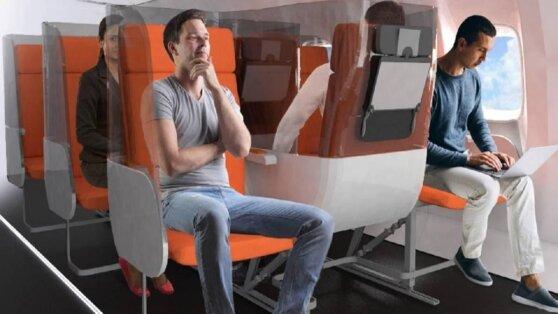 В самолетах социальное дистанцирование станет обязательным