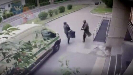В Красноярске совершено вооруженное нападение на инкассаторов