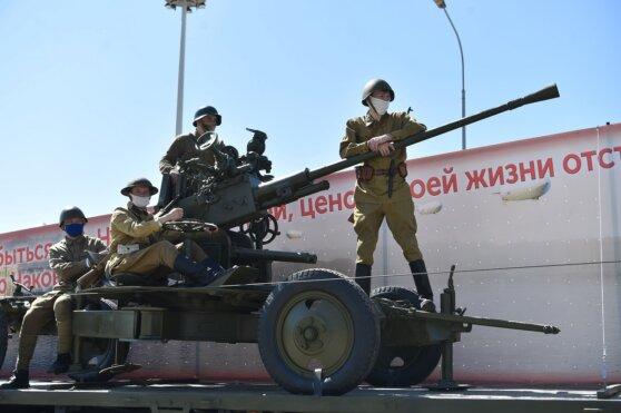 Как в Верхней Пышме отпраздновали День Победы
