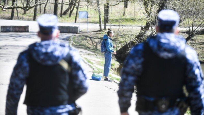 патруль полиция росгвардия самоизоляция
