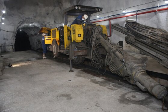Гайский ГОК достроил ремонтный подземный пункт