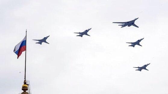 В Москве прошла репетиция авиапарада Победы