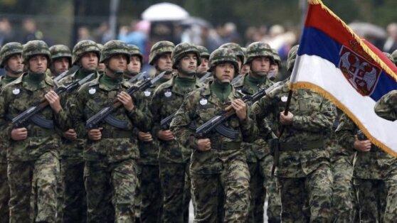 Торжественная церемония возложения венков к памятнику советским воинам прошла в Белграде