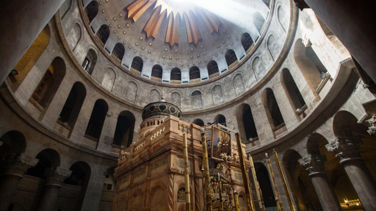 Храм Воскресения Христова - Храм Гроба Господня - внутри