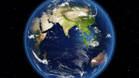 Гигантская плита под Индийским океаном раскалывается надвое