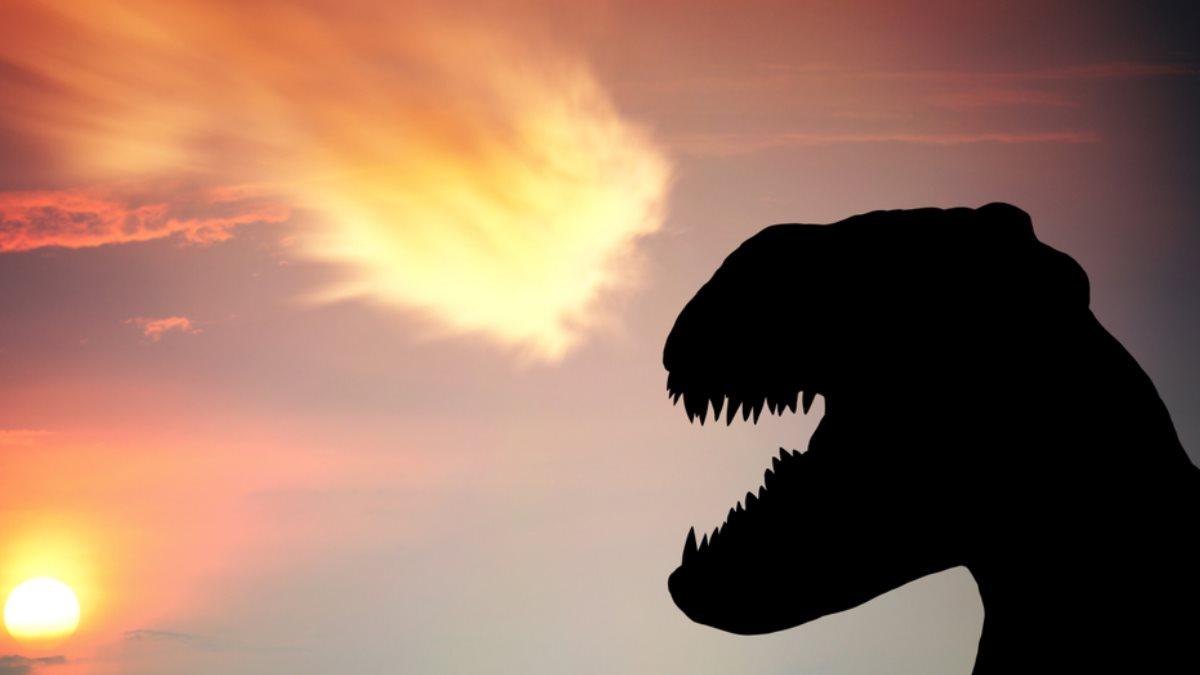 Динозавр метеорит