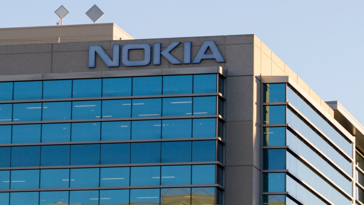 Nokia логотип здание