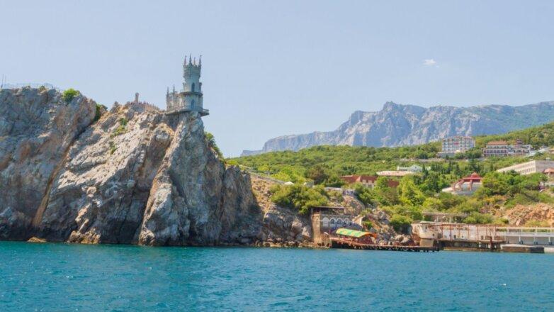 Крым туризм Замок Ласточкино гнездо на мысе Ай-Тодор