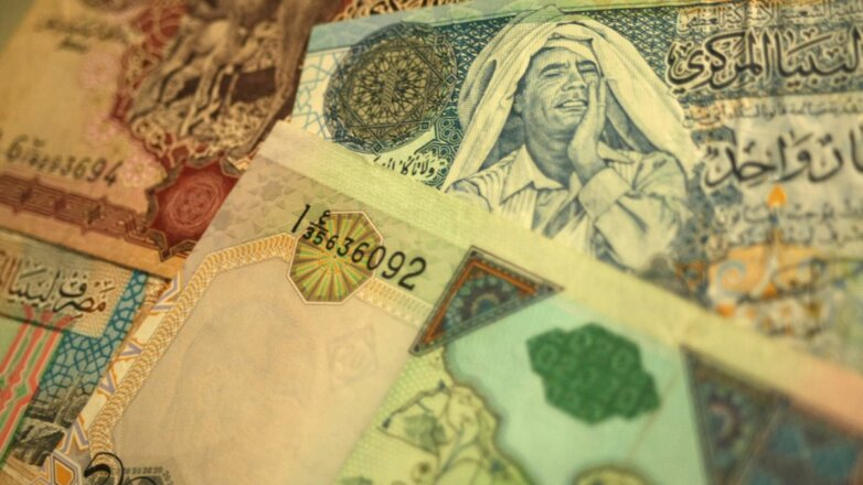 Ливийский динар ливийские деньги Ливия